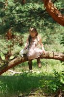 In the woods with a rabbit (7) by anastasiya-landa