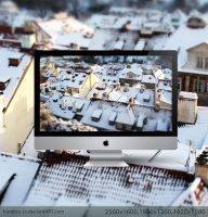 Prague in Tilt-Shift II by hombre-cz