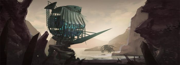 Deserted Outpost by indikate