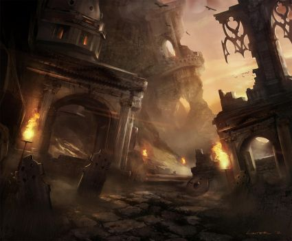 The Ruins by TitusLunter