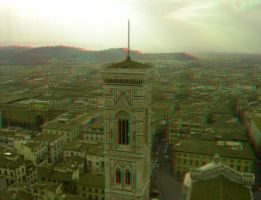 Florence 2 3D Anaglyph by yellowishhaze