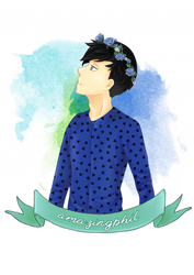 flower crown phil by impalardis