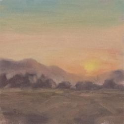 Plein Air - Sunset by Brandon-Schaefer