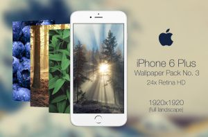 Retina HD Wallpaper Pack No. 3 - iPhone 6/S Plus by pddeluxe