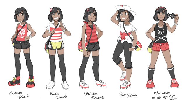 Alola Fashion by Quilofire