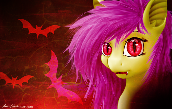 Wallpaper ~ Flutterbat ~ by Farcuf
