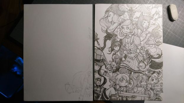work in progress league of legend  by mr-fower