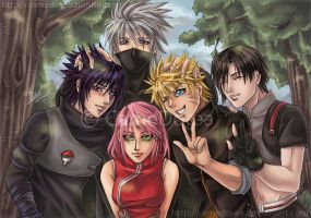 Team 7 reunited by CameDorea