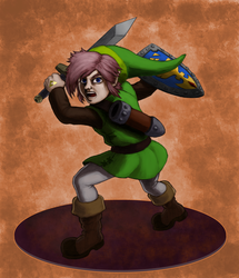 Pink Haired Link by Timbo1834