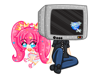 LoliPop and TV! by PrincessDevin302
