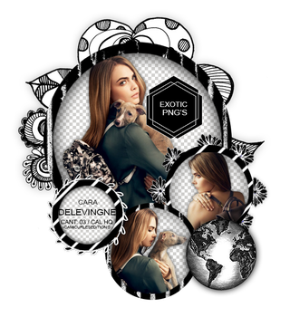 Pack png 1466 // Cara Delevingne. by ExoticPngs