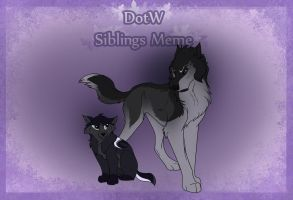 Athena's Siblings Meme by WynBird