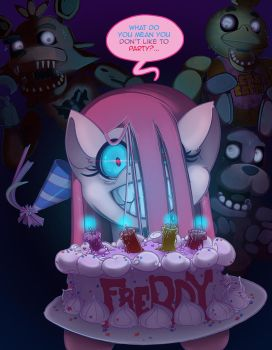 Five Nights with Pinkie 2nd Night by foolyguy