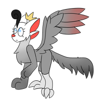 Grey Crowned Crane HG Mystery Result by xXSoft-SilenceXx