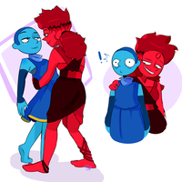 red/blue by questionedSleeper