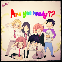 Are you ready? Ao Haru Ride by Rawliet