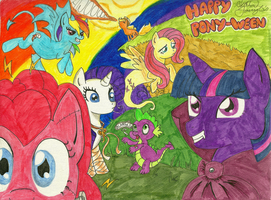 Happy Halloween 2011 by hrfarrington