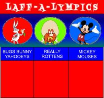 Laff-A-Lympics (Golden Age of Cartoons version) by timmybrisbyfan1925