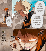 Boku no Hero Academia - Bakugo vs Ochako by IMug3tsu
