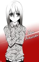 Jane Arkensaw(before) by Insanechan