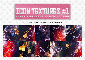 Icon Textures - Red Lightning by leyna-percabeth