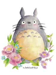 Totoro by Fayland