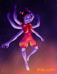 ::Little Miss Muffet Sits in Her Web:: by ForthSanity