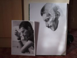 WIP: Freddie Mercury by Illumielle