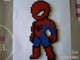 Spiderman by perles-hama