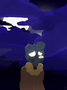 spooky nights by rainbowwolf368