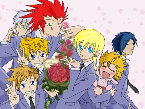 Ouran Hearts Welcomes You by attorneyhoboninja