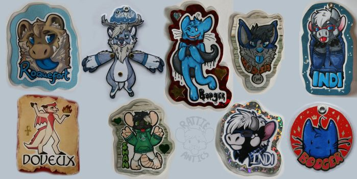 Badges Batch! by Rattus-Shannica
