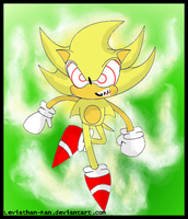 Fleetway Super Sonic by leviathan-ran