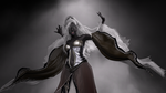Drow Priestess by The-Artistic-Hermit