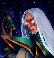 Jenos from Champions of the Realm by Fujimimimi