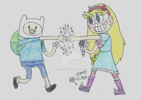 REQUEST: Epic Fist bump! by CelmationPrince