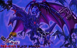 Red-Eyes Ultimate Dragon Ver.1 Devpro Background by Maxxwell1