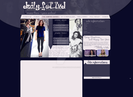 Phoebe Tonkin and Candice Accola Layout by Lexigraphic