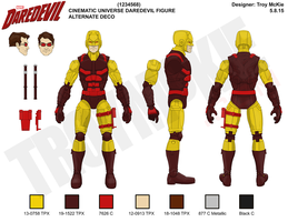 Marvel Legd-Style - MCU Daredevil Alternate Deco by thedream86