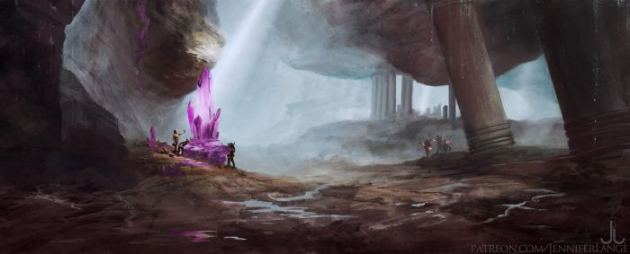 Rhoenoak: Cave exploration by Ranarh
