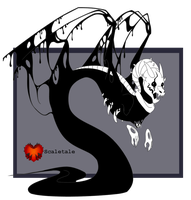 Scaletale Gaster by CriexTheDragon