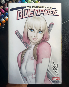 Gwenpool by WarrenLouw