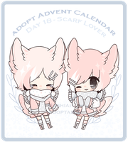 CS Droplet | Day 18 - Scarf Lovers by HoshiAi