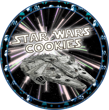 Star Wars Cookies by Echilon