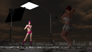 Evening Photo Shoot by cwichura