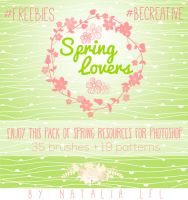 LFL Resources. Spring Photoshop Pack. by NataliaLfl