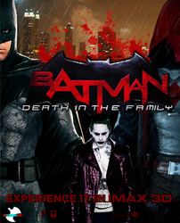 Batman Death in the Family movie poster by ArkhamNatic