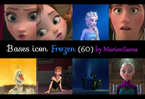 [BASES ICONS] Frozen (60) by MarionSama
