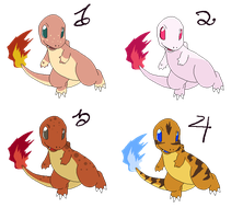 Charmander Adopts - Open by Witch-Doctais46