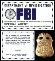 FBI ID by iamgeorge